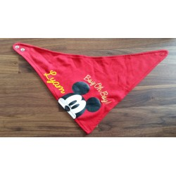 Bandana Mickey rouge