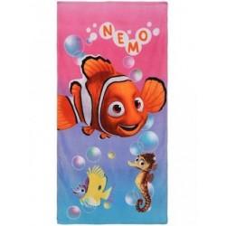 Serviette de plage Nemo et Dori