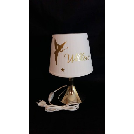 Lampe pied or Personnalisée Evy Dream Creation