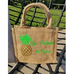 sac cabas ananas enfant