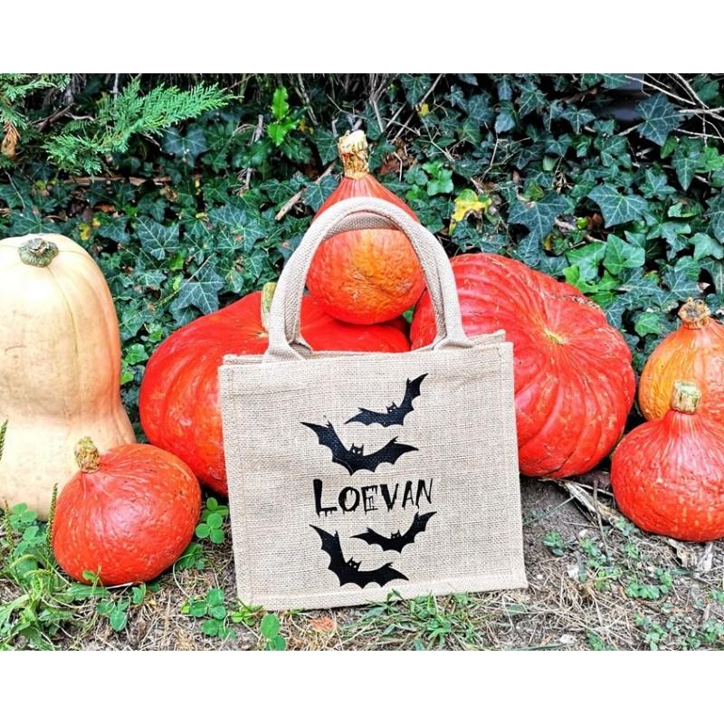 sac Halloween chauve souris