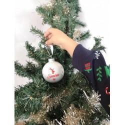 Boule de Noel personnalisée