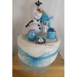 Gateau de couches Olaf