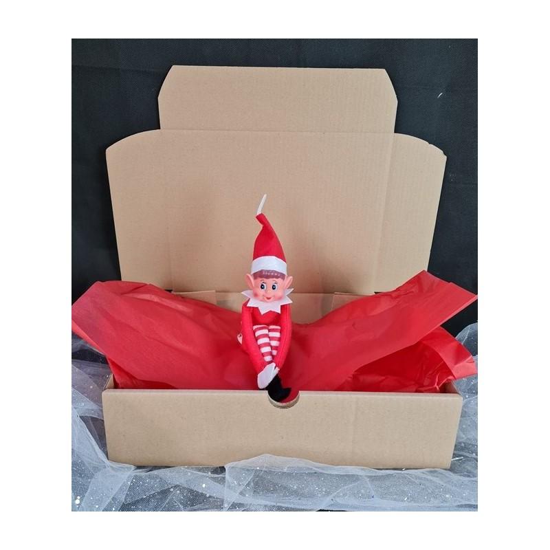 Box elfe de Noël réalisé par Evy Dream Creation
